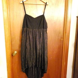 Torrid Hi-Low sparkly sweetheart dress